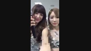 tiffany&taeyeon SNSD in osaka 2016