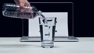 حرکات دیدنی با آب
