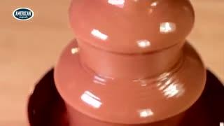 دستگاه طبقاتی آب کردن شکلات