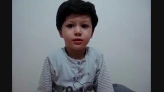 معنی کردن اشعار سعدی توسط بچه!