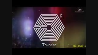 EXO_Thunder بازیرنویس فارسی جوین شده