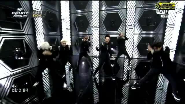 اهنگ snsd نماشا یک اجرای جذاب از EXO-K برای اهنگ overdose - نماشا