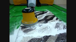 فرش شوی صنعتی, پولیشر تک برسه قالیشویی, شوینده قالی و موکت صنعتی