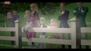 باربی و خواهرانش در اسب سواری
