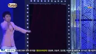 مراسم با حضور پارک شین هه و لی مین هو و لی جونگ سوک  برای وارثانه  فک کنم