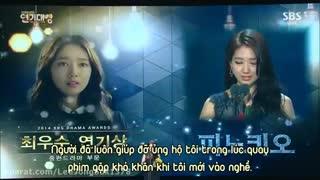پارک شین هه ب عنوان بهترین بازیگر زن  در شبکه ی KBSبرای بازی در پینوکیو انتخاب شد