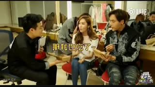 Jessica  snsd & William Chan- Happy Camp