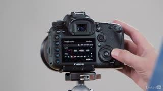 آموزش کار با دوربین Canon 7D Mark II