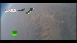 پرش از ارتفاع 7600 متری بدون چتر!