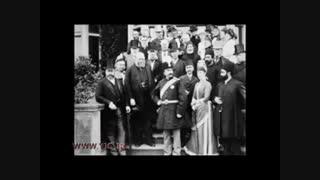 اولین سفر اروپایی ناصرالدین شاه