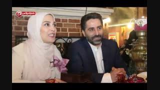 مصاحبه با ژیلا صادقی ، مجری تازه عروس