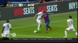 بارسلونا ۴-۲ لستر سیتی