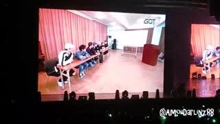 حتماااا ببینید160624 GOT7 1st Concert [FLY in SINGAPORE] - Girl Group School VCR with ENG SUB