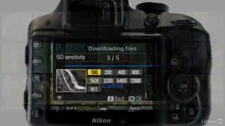 آموزش کار با دوربین Nikon D3200 و Nikon D3300