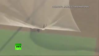 پرش از ارتفاع 25000 فوتی بدون چتر!!!