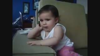 بچه و گوشی موبایل