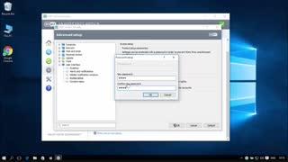 آموزش ESET Smart Security 20 حفاظت از تنظیمات پیشرفتۀ نرم افزار