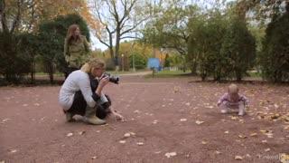آموزش عکاسی کودک در فضای باز