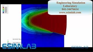 شبیه سازی جوش ، کوپل حرارت - تنش اباکوس - انسیس ، abaqus-ansys  welding simulation