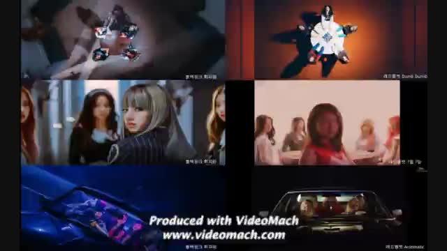 Image result for موزیک ویدیو بومبایا از بلک پینک