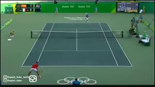 مسابقات تنیس مردان روز چهارم