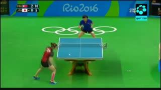 رده بندی پینگ پنگ زنان : کره شمالی ۴-۱ ژاپن
