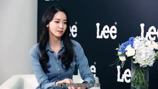 YoonA –snsd - Gogoboi's interview for Lee Jeans event