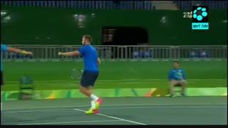 تنیس دوبل مردان : قهرمانی اسپانیا