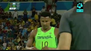 آرژانتین ۱۱۱-۱۰۷ برزیل