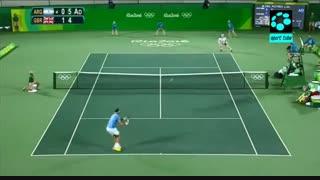 فینال تنیس انفرادی مردان : قهرمانی اندی ماری با برتری برابر دل پوترو