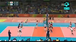 ژاپن (زنان) ۳-۰ آرژانتین (زنان)