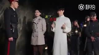 پشت صحنه ی سریال جدید لِی exo ، این کیوت بازیاش آدمو می کشه :'( :'( :'(
