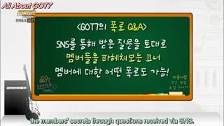 comeback talk-got7(بازیرنویس فارسی)