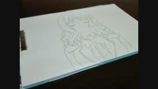 نقاشی من از کوموری یویی( عاشقان شیطانی )^-^