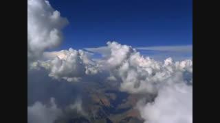 حرکت لا به لای ابرها..تصاویر رویایی