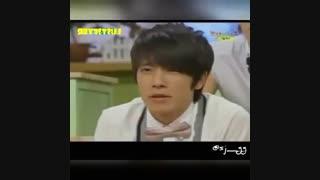 ضایع شدن دونگهه سوپر جونیور :| donghae Super Junior