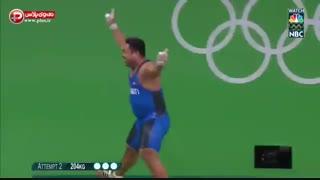 شادترین وزنه بردار المپیک ریو