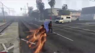 ویدئوی پک شخصیت های The Flash برای بازی GTA V