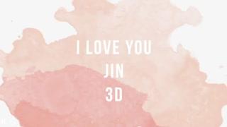 "(! I LOVE YOU-  BTS  ""JIN"" (3D use headphones"
