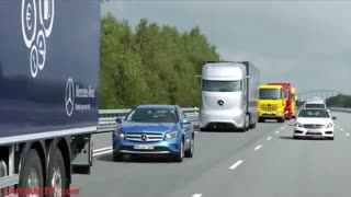 کامیون هوشمند مرسدس بنز