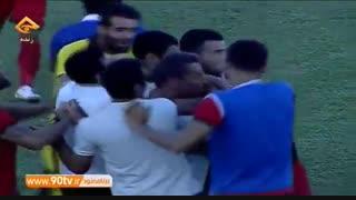 خلاصه بازی: خونه به خونه ۲-۲ بادران تهران