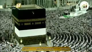نماز صبح امروز 31 مرداد 1395 مسجدالحرام مکه مکرمه