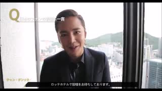 JKS MESSAGE  TO JAPANESE  FANS FOR 2016 LOTTE HOTEL FAN MEETING