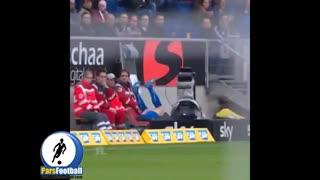 فیلمبردار بدشانس مسابقه فوتبال