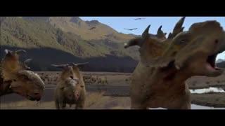 تلیر انیمیشن همراه با دایناسورها