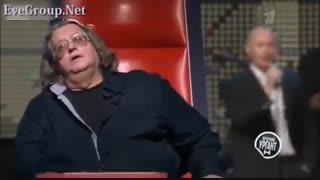 شوخی با سران سیاسی دنیا : ولادیمیر پوتین در مسابقه آواز!