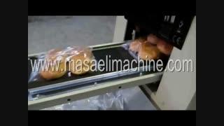 دستگاه بسته بندی  نان همبرگر، بسته بندی نان ، دستگاه بسته بندی نان لواش