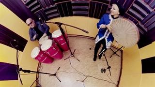 ویدیوی 360 درجه : اجرای موسیقی حکیم لودین در ایران
