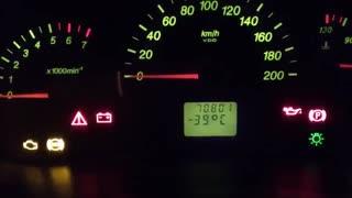 استارت اتومبیل در هوای سرد