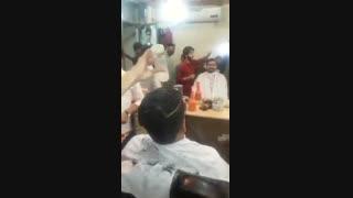 اتش زدن مو برای صاف شدن
